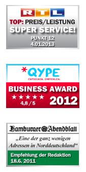 RTL Qype Hamburger Abendblatt