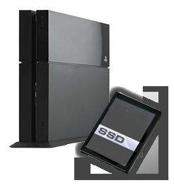 Playstation 4 SSD Aufruestung