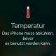 iphone hitze