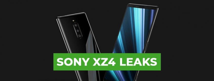 Sony XZ4 Kamera Leak
