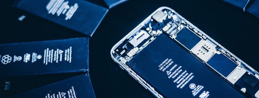 iPhone akku repair